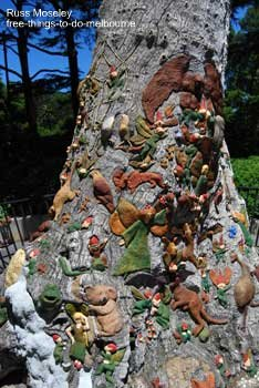 Fitzroy Gardens Fairy Tree