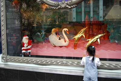 Myer Christmas Window Display