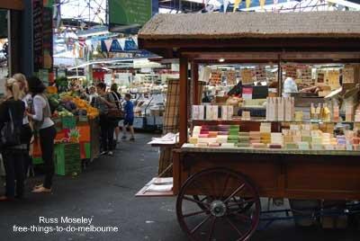 Prahran market stall