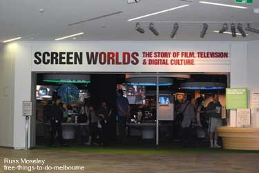 Australian Centre for the Moving Image - Screen Worlds exhibition