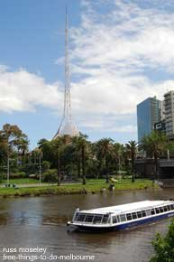 Arts Centre from Yarra River