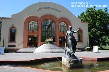 Conservatory Fitzroy Gardens