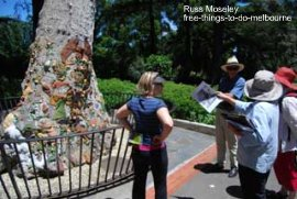 Fitzroy Gardens guided tour