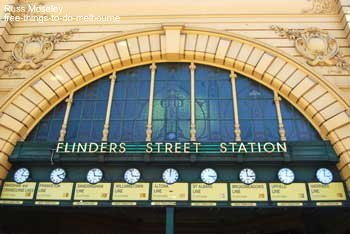 Flinders Street Railway Station Clocks