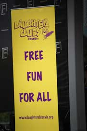 Laughter Club sign