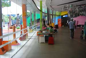 Melbourne Museum Kids Area