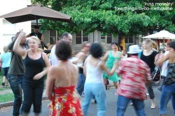 Dancing at Abbotsford Suppermarket