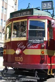 City Circle Tourist Tram Melbourne