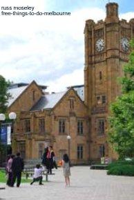 A graduate at Melbourne University