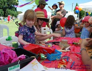Party in the Park Arts and Craft stall