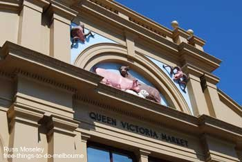 Queen Victoria Market Building Entrance