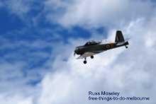 RAAF Museum flying display