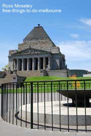 Shrine of Remembrance and Eternal Flame