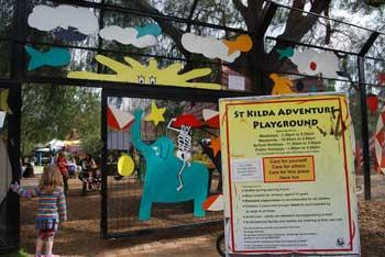 St KIlda Adventure Playground entrance