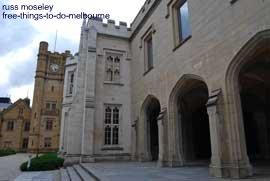 University of Melbourne campus