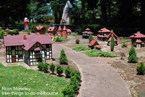 Fitzroy Gardens Tudor Village