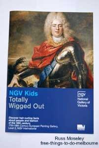 NGV International kids booklet example