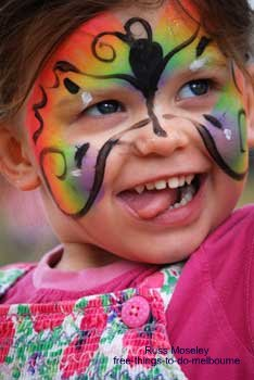 Kids Activities Face Painting