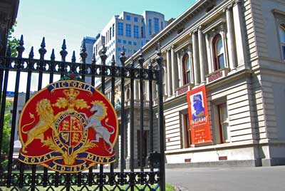 The Hellenic Museum is housed within the original Melbourne Royal Mint administration building