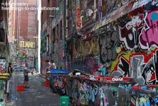 Check out this famous Graffitti covered street