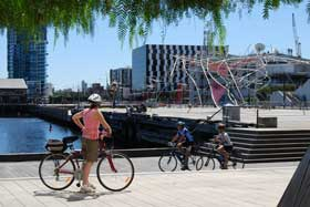 Cycling Docklands