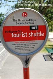 Free Shuttle Bus Stop