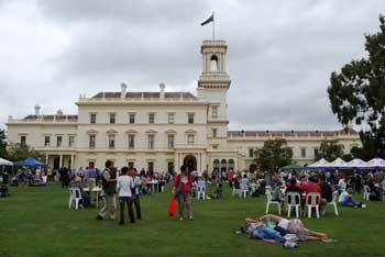 Government House Australia Day