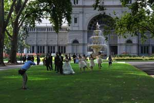 The famous Hochgurtel Fountain