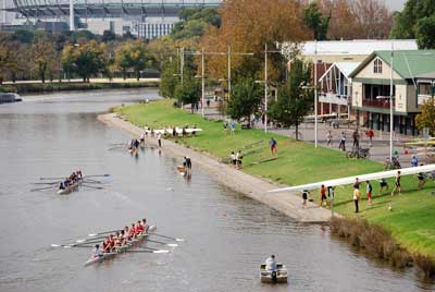 River Yarra Boathouses