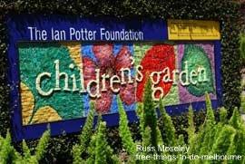 Children's Garden in Royal Botanic Gardens